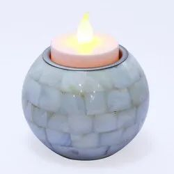 Round Candle and Tea Light Holder