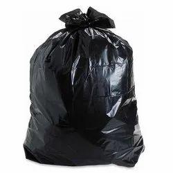 Black Plain Garbage Bag, Capacity: 15 L