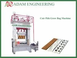 Coconut Pith Grow Bag Making Machine