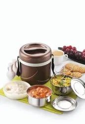 CARE Stainless Steel INSULATED TIFFIN, For Office