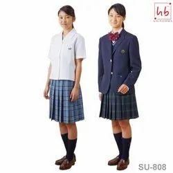 HB Uniforms Cotton SU-808 Girls School Uniform