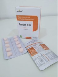 MetaMorf Tanglin- Vit C, Vit D3, Zinc Sulphate 10x10 Chewable Tablets