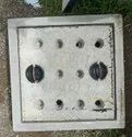 18x18 Inch Medium Duty Grey Iron Manhole Cover