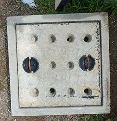 18x18 Inch Medium Duty Grey Iron Manhole Cover
