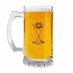 Beer Mug Glass With Printing