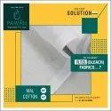 White Plain Mal Cotton Fabrics, Gsm: 50-55, Packaging Size: 70 - 120 Meter Per Pack