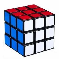 Blue D0865_Puzzle Cube 3x3x3 Multicolor