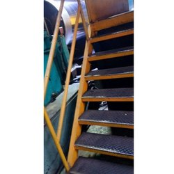 Industrial Mild Steel Staircase