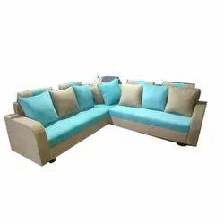 Modern L Shaped 6 Seater Designer Sofa Set, Living Room