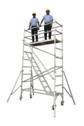 Aluminum Mobile Tower Scaffold