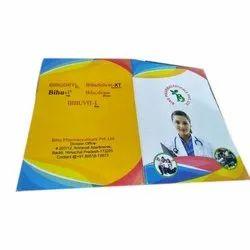 1-2 Days Paper Prescription Pad Printing Service, in Pan India, Dimension / Size: 8.5x5.5 Inch