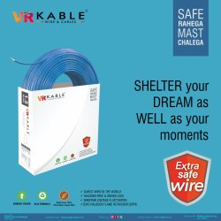 VR Kable 4.00 Sq Mm Extra Safe Wire