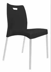 Kylin Plastic Armless Chair With Powder Coating Leg