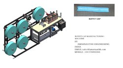Bouffant Cap Making Machine By M/s Amarnaathh Indian