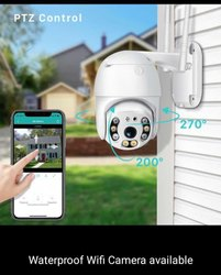 Ptz Wifi Outdoor Camera