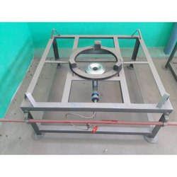 Mild Steel Commercial Single Burner Stove, 1, Size: 3 X 3.5 2 Feet
