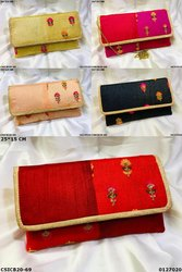 Stylish Floral Print Clutch Bag