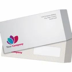 Printed Paper Envelopes, Thickness: 120 Gsm