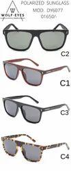 Wolf Eyes Brown Line Sunglasses