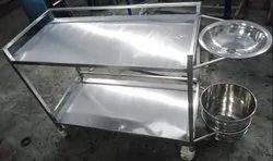 Dressing Trolley Made Of Stainless Steel 304