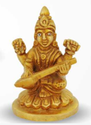 165 gm Brass Statue Saraswati Ji