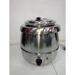 Ezy Cook Silver, Black SS Electric Soup Kettle