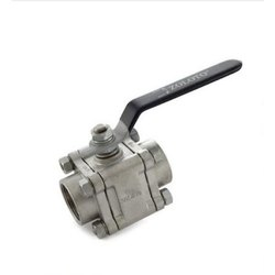 1080A SS 3 Piece Design Ball Valve