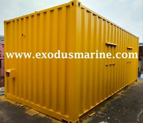 Second Hand and Used Steel Containers