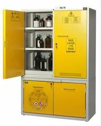LSS - Flame Safety Cabinets For Combined Storage Of Chemical,Bases And Flammables
