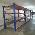 8 Feet Free Standing Unit Ms Shelving Rack, For Supermarket, 4 Shelves