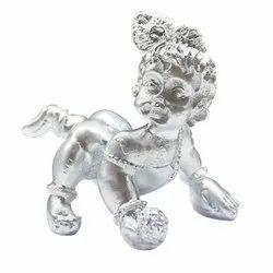 Parad Mercury Laddu Gopal Lord Krishna - (Baby Krishna)