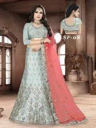 Ethnic Bridal Silk Lehenga