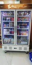 Elanpro Double Door Visi Cooler