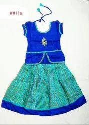 Mitra Cotton and Silk Designer skirt