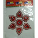 10 Inch Diamond Rangoli Sticker