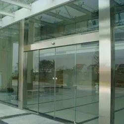 Office Automatic Sliding Glass Door