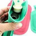 Hot Rubber Water Bottle Super Deluxe Multi Color Pain Relief Device - Mini-Rubber-Water-Bag