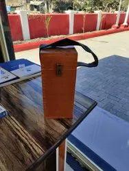 Screw Cap Aluminium Sample Box Wood For Petrol Pump, Use For Storage: Oils, 2 Ltrr
