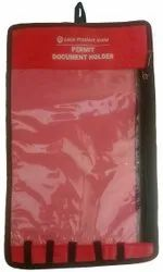 Plastic Lockout Permit Document Holder Red Without Material, Multipurpose
