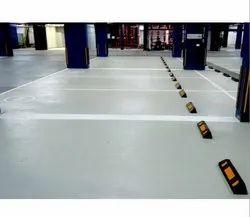 Polyurethane PU Flooring Services, For Indoor