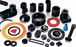 Black Custom Moulded Parts