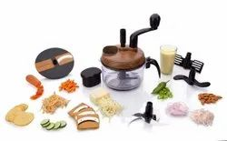 Turbo Dual Speed Food Processor, Wooden