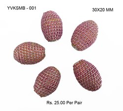 Kashmiri Resin And Dori Beads