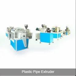 Plastic Pipe Extruder