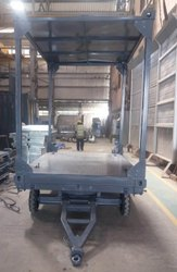Mild Steel MS Trolley, For Material Handling
