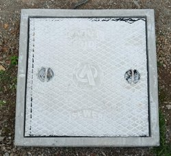 24x24 Inch Heavy Duty SFRC Manhole Covers