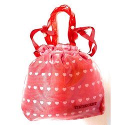 Red Silk Designer Potli Bag