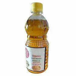 Mono Unsaturated Organic Cold Pressed Sesame Oil