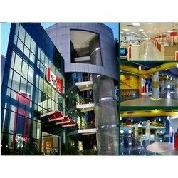 Commercial Prefab Mall Building Construction Service, in Pan India