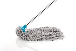 Oval Supreme Deck Mop / Cotton Mop/ Wet Mop With SS Pipe